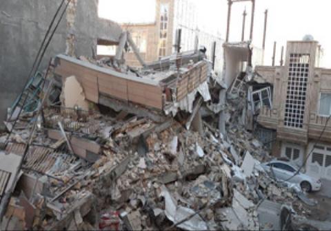 ثبت لحظه زلزله کرمانشاه توسط پدری در جشن تولد دخترش+فیلم