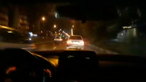 تعقیب و گریز پلیس در خلاف جهت خیابان | تی وی پلاس