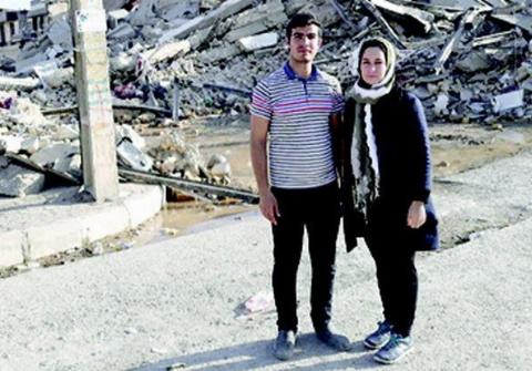 نجات معجزه آسای  زن باردار بعد از 16 ساعت زیر آوار بودن