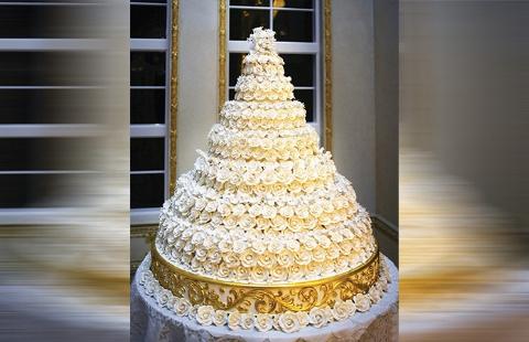 مزایده کیک عروسی دونالد ترامپ و ملانیا پس از ۱۲ سال! +عکس