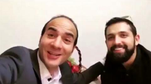 شوخی جالب حسن ریوندی با محسن افشانی +فیلم