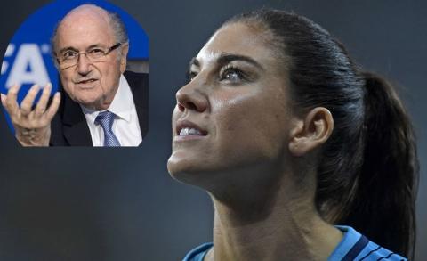 مرد اول فوتبال دنیا به آزار جنسی یک زن سرشناس متهم شد