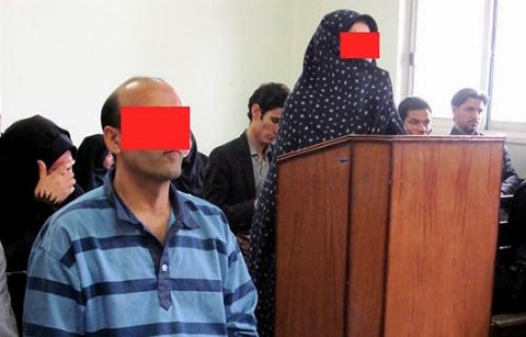 این زن که ادعا می کرد همسرش مدافع حرم است، قاتل شوهرش از آب درآمد!/ نابود کردن وحشیانه جسد با اسید