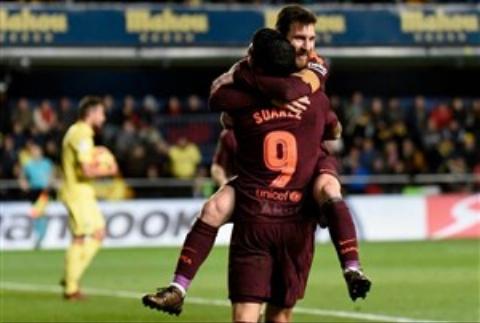 ویارئال ۰ - ۲ بارسلونا؛ پیروزی شیرین در ال مادریگال مقابل حریف ده نفره