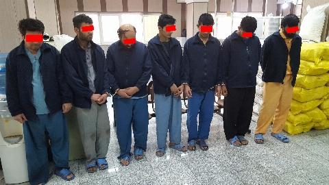 8 تن از اعضای باند سرقت محموله های خودروها در یک عملیات پلیس به دام قانون افتادند