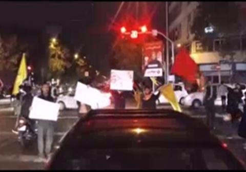 شادی مردم تهران از نابودی داعش + فیلم