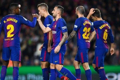 صعود آسان بارسلونا به مرحله یک شانزدهم نهایی کوپا دل ری با پیروزی 5 بر صفر مقابل رئال مورسیا