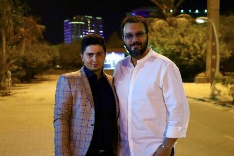 امین دارابی و کامبیز دیرباز در کیش | تی وی پلاس