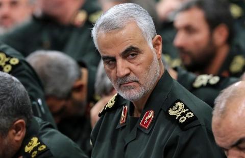 ویدئوی دیده نشده از سردار سلیمانی در جنگ با داعش