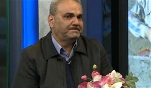 اشک های شوق جواد خیابانی بعد از بازی خیریه کرمانشاه/فیلم
