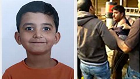 مردم کودک رباها را بدجوری کتک زدند + فیلم لحظه ربودن کودک