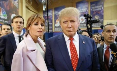 رفتار زشت و جنسی دونالد ترامپ با مجری زن