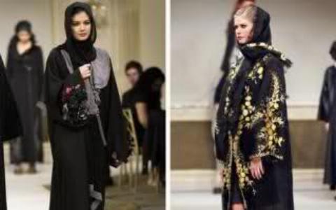 ویدئویی جنجالی از نمایش مد زنان عربستانی در یک مراسم مختلط