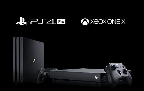 مقایسه دو کنسول PS4 Pro و Xbox One X + فیلم
