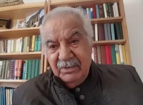 ناصر ملک مطیعی از پیام های محبت آمیز مردم تشکر کرد +فیلم