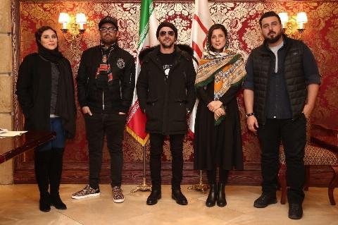 محمدرضا گلزار و امین حیایی ساخت ایران دو | تی وی پلاس