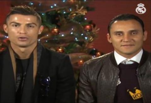 تبریک کریسمس بازیکنان رئال مادرید/فیلم