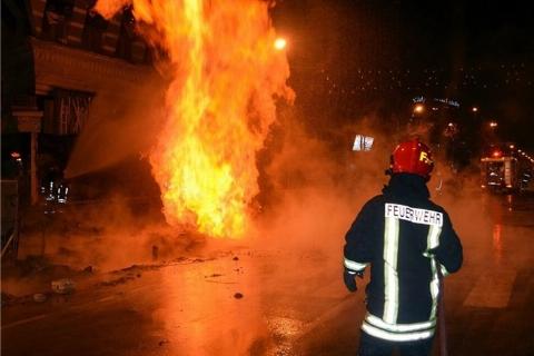قتل خانوادگی وحشتناک در برازجان/ پسر جوان  پدرش را به آتش کشید