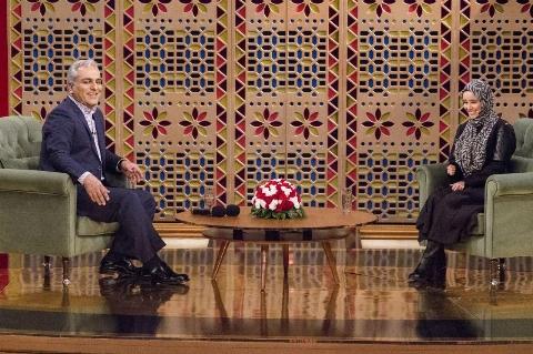 الناز حبیبی در برنامه دورهمی مهران مدیری | تی وی پلاس