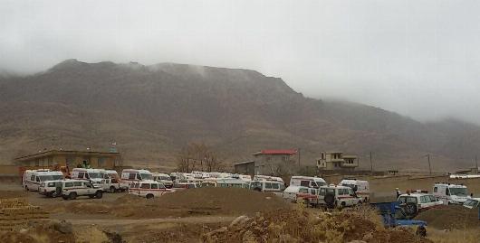 پرواز اولین هلیکوپتر جستجوگر بر فراز رشته کوه های دنا +فیلم