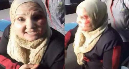 معلم بی اعصاب دانش آموز و مادرش زیر مشت و لگد گرفت/فیلم