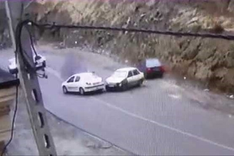 پرونده عجیب ریختن گازوئیل و تصادف ها ی شدید در جاده چالوس! / واکنش دادستان کرج + فیلم