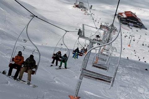 فاجعه خونین درسرعت تله سیژ اسکی بازان + فیلم باورنکردنی