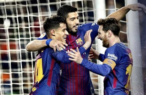 بارسلونا ۶-۱ خیرونا؛ برد پرگل کاتالان ها با هت تریک سوارز