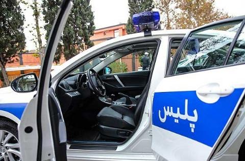 این مامور پلیس ایرانی ماشین پلیس را جریمه کرد ! + فیلم تحسین برانگیز