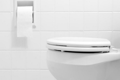 عجیب اما واقعی / مراسم عجیب افتتاح توالت عمومی با حضور مقامات ! + فیلم