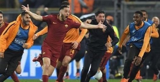 آ اس رم ۳ - ۰ بارسلونا؛ حذف ناباورانه آبی و اناری پوشان در شب تاریخی المپیکو