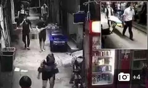 قدم زدن در خیابان با سر بریده همسر! +فیلم