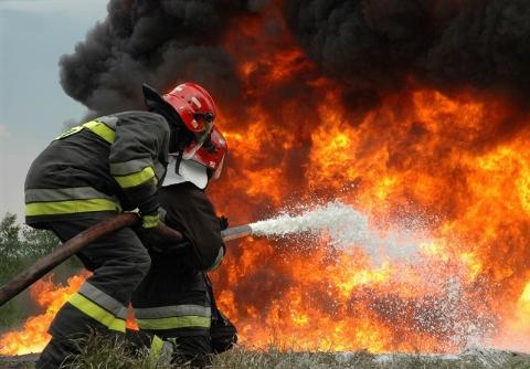 دو مرد سردشتی بر اثر حادثه تصادف در آتش سوختند + فیلم 16+
