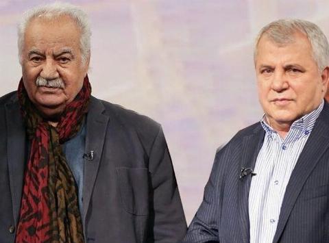 فیلمی از حضور علی پروین در مراسم تشییع پیکر زنده یاد ناصر ملک مطیعی