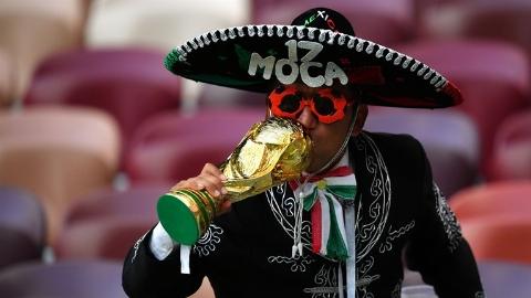 خلاصه بازی آلمان 0 - مکزیک 1 (جام جهانی 2018 روسیه)