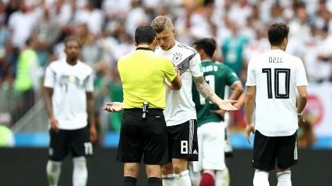 قاطعیت داور ایرانی در مقابل ستاره آلمانی