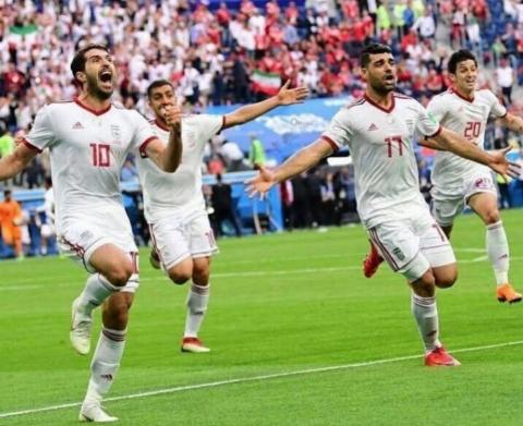 اولین تمرین تیم ملی ایران بعد از پیروزی شیرین مقابل مراکش