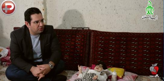 وقتی مجری تازه داماد تلویزیون ایران نتوانست جلوی اشک هایش را بگیرد/دستان کم رمق و بیمار اسماء در دستان پُر مهر محمدرضا احمدی آرام گرفت - بگوسیب قسمت یازدهم