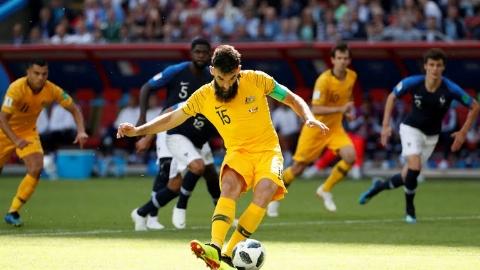 خلاصه بازی فرانسه 2 - استرالیا 1 (جام جهانی 2018 روسیه)