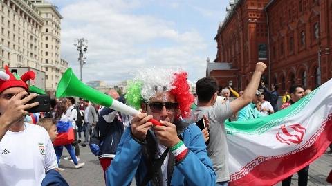 اولین گل ایران به اسپانیا/ آشوب هواداران ایران و اسپانیا در خیابان های کازان