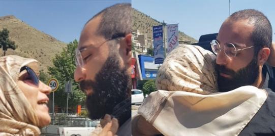 فوری:لحظه ی آزاد شدن حمید صفت از زندان و اشک هایی که بند نمیاد.اختصاصی تی وی پلاس