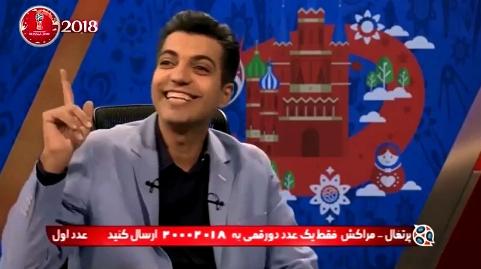 حادثه در برنامه زنده عادل فردوسی پور