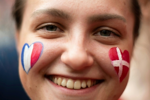 خلاصه بازی دانمارک 0 - فرانسه 0 (جام جهانی 2018 روسیه)