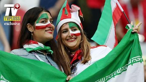 گردهمایی شاد ایرانیان مقیم لندن برای تماشای بازی ایران و اسپانیا/لندن پلاس تقدیم میکند