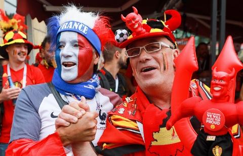 خلاصه بازی فرانسه 1 - بلژیک 0 (جام جهانی 2018 روسیه)