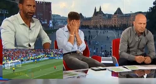 واکنش های جالب فابرگاس،فردیناند،آلن شیرر و هواداران روسیه به پنالتی آسپاس و حذف ناباورانه اسپانیا