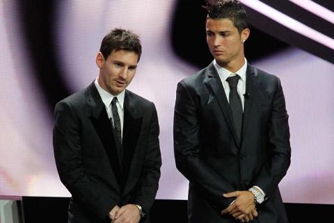 10 سوپر گل لیونل مسی و کریستیانو رونالدو