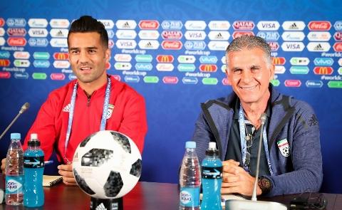 کارلوس کی روش: باید واقع گرا باشیم/ پرتغال مدعی قهرمانیست/ ما به جام جهانی نیامدیم که بازنده های خوبی باشیم/ نشست خبری کیروش پیش از دیدار ایران با پرتغال