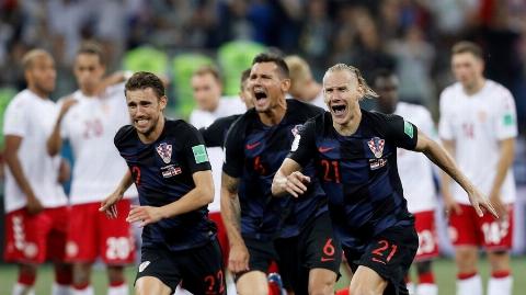 خلاصه بازی کرواسی 1 - دانمارک 1 + پنالتی (جام جهانی 2018 روسیه)
