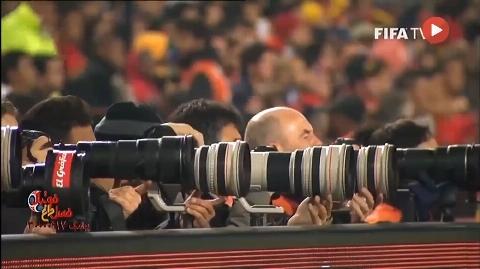 پشت صحنه ای جذاب از فیلمبرداری های بازی های جام جهانی